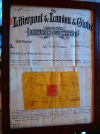Old Insurance Certificate