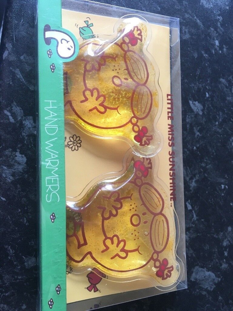 Mr Men Little Miss hand warmers. Perfect gift and stocking fillers for Christmas
