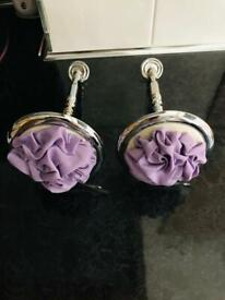 PAIR OF HEAVY CURTAIN TIE BACKS