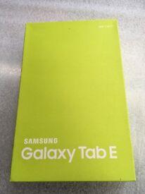 "SAMSUNG GALAXY TAB E 9.6"" 8GB (METALLIC BLACK) - WIFI - BRAND NEW"