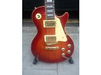 MEMPHII LP STYLE ELECTRIC GUITAR GREAT PLAYER LOVELY CONDITION