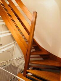 Parana pine staircase