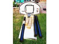 BARGAIN! GREAT GIFT! BASKETBALL NET SET FULL-SIZE - Power Slam NBA Huffy Sports Basketball System