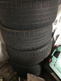 4x 225/50/r17 WINTER Tyre's