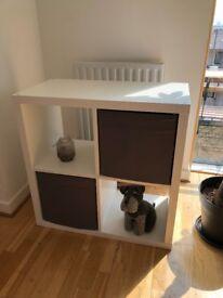 Ikea square cabinet. Bedroom/living room