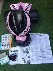 Girls 6v Electric Trike, Pink Avigo Bandit 750, Excellent condition