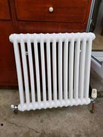 Vintage white radiator