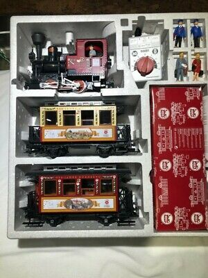 LGB train set Sonder edition, New, also includes Christmas sound car