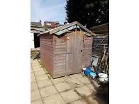 Garden shed 8x6x7