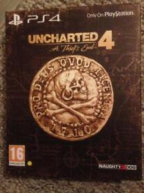 Uncharted 4 A thiefs End Special / Steel book edition