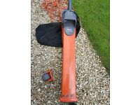 Flymo 'Garden Vac' electric leaf blower and hoover, incl collection bag