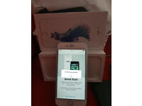 apple iphone 6s 16gb silver. boxed