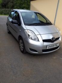 Toyota Yaris, low mileage, good condition.