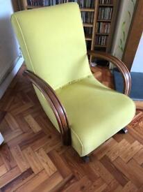 Retro restored rocking chair