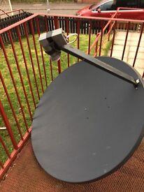 Satellite dish ,sky,magic box etc