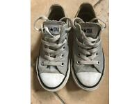 Grey Converse Size 11.5. Used.