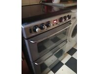 gas cooker newhome stove double ll good condition about 4 ,years old