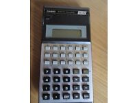 Vintage Casio Fx-82 Scientific Calculator -REF- 0.149kga5-171-AC192290