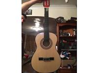 Classical Guitar, natural, ideal for learners
