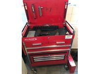 Snap on Mac tools, blue point box for sale