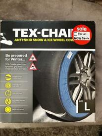 anti skid snow & ice wheel covers