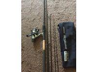 Shimano fishing rod&reel, hyperloop