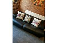 Italian leather sofa natuzzi