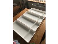 Storage tray x4