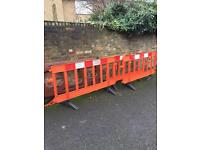 Free safety barriers