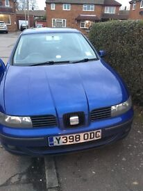 Seat Leon 2001 for £400- 5 door, good condition with CD player along with big buffer