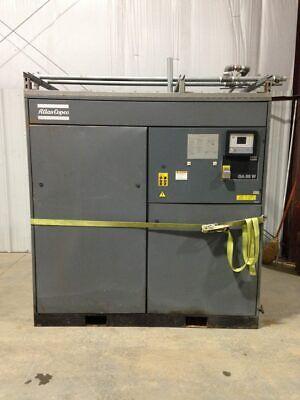 Atlas Copco Ga55w Oil Free Rotary Screw Air Compressor 1998 75 Hp