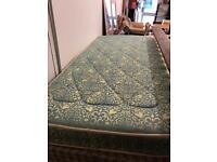 Spotless clean single mattress