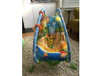 Tiny Love vibrating baby bouncer
