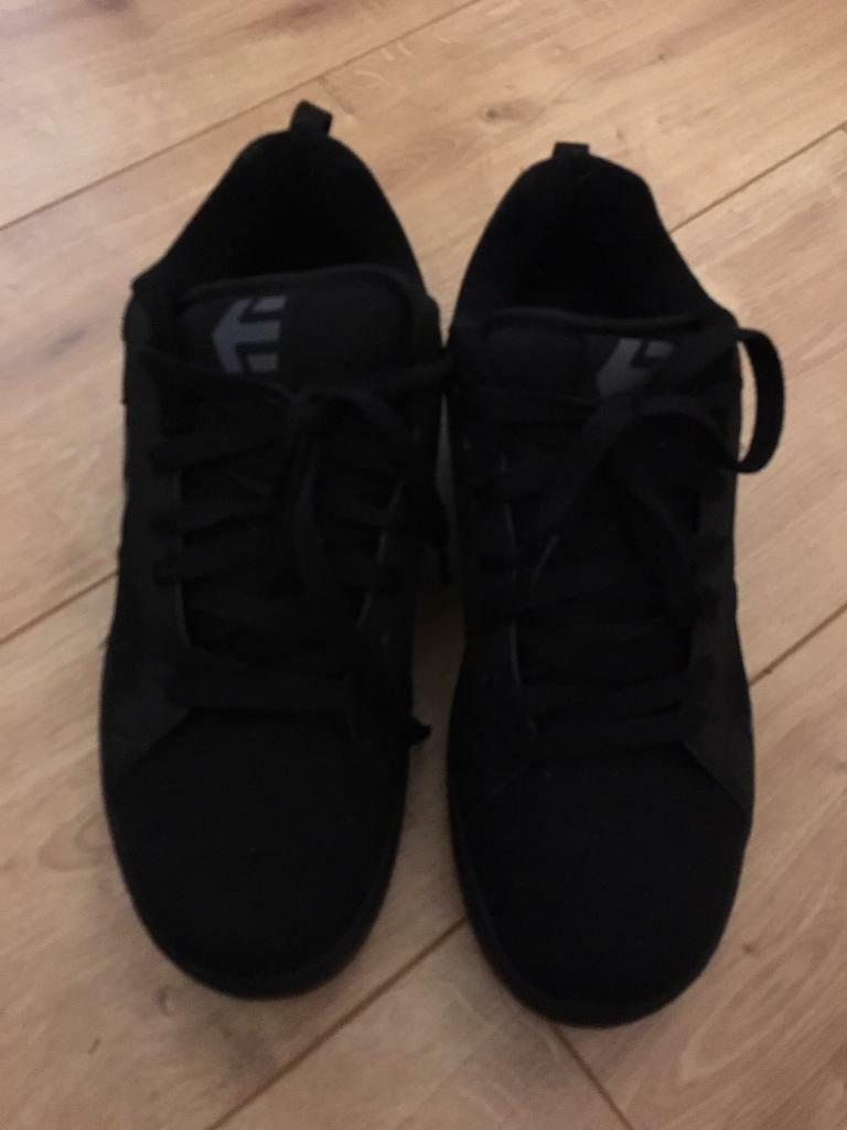 sports shoes acf3b 88579 Mens Etnies Black Trainers Size 10 | in Bournemouth, Dorset | Gumtree