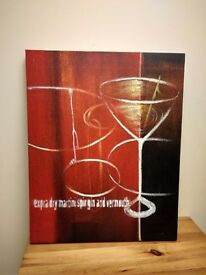 Painting on canvas
