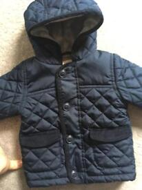 Baby boys navy jacket