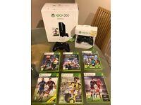Xbox 360 Bundle, Fifa 17, MINECRAFT, Lego Jurassic World, Xbox, 2 genuine controllers, head set