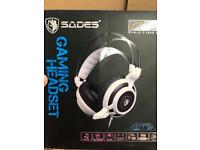 SADES Arcmage 3.5mm PC Gaming Headset Headphones with Microphone Volume Control