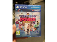 Knowledge is Power ps4 playstation 4 brand new & sealed
