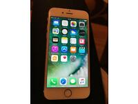 IPhone 6 16gb gold colour mint condition.