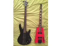 Bass guitars! Headless and Kaoss