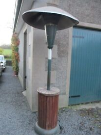 PATIO HEATER - FULLY OPERATIONAL - NOW SURPLUS TO REQUIREMENTS - GOOD MAKE £65