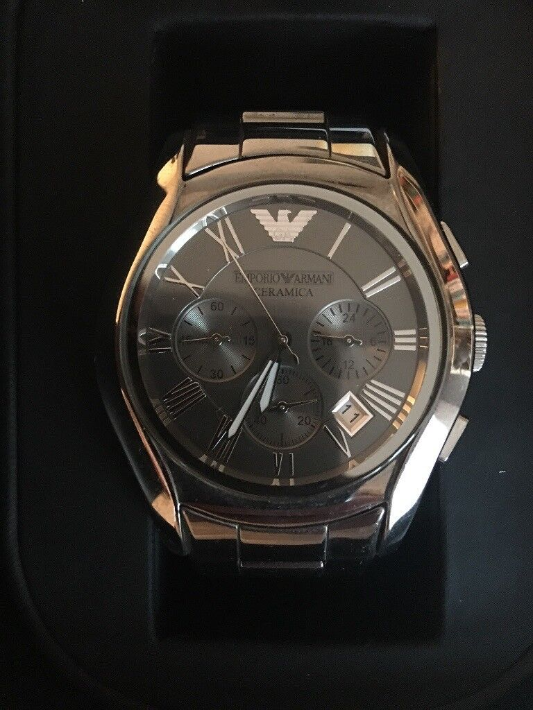 Emporio Armani Men's Ceramic Chronograph Watch