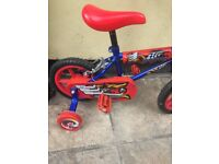 Brand new! Ignition children's unisex bike red/blue with stabilisers