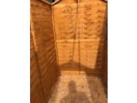 6x4ft Garden Shed