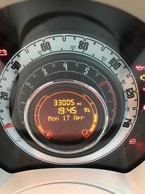 Fiat 500 1.2 lounge start/stop low mileage