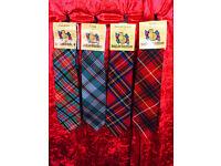 Scottish made Tartan Ties
