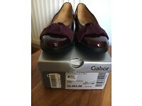 Brand New GABOR size 6.5 Leather Shoes