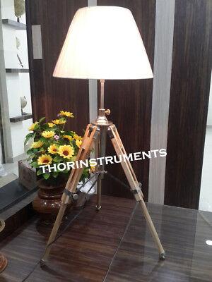 DESIGNER NAUTICAL MARINE TABLE LAMP  TRIPOD TABLE LAMP, DESK LAMP