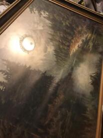 Massive picture with frame